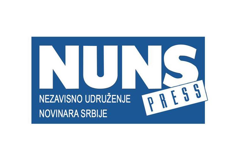 Nezavisno Udruženje Novinara Srbije logo